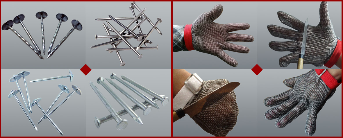 Shijiazhuang Tianyue Honest Co.,Ltd. ,common_nails,Stainless Steel Gloves